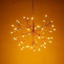 LED 로맨틱 행잉 조명 골드 25CM