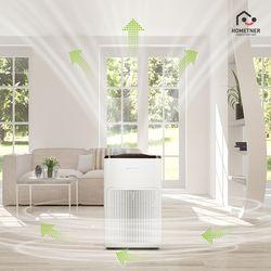 홈트너 가정용 공기청정기 AERO200 화이트
