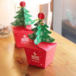 (인디고샵)크리스마스 메리트리 상자 소 (3개)
