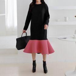Gimo Neo Flare Long Dress