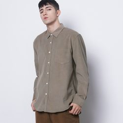 M201 coduroy over shirts khaki
