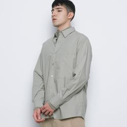M421 so basic cotton over shirts khaki