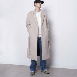 M44 wool iong coat ivory