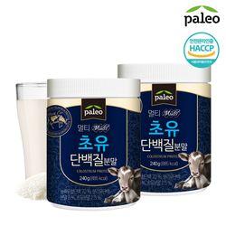 팔레오 초유 단백질 240g 2통