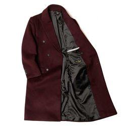 MAN winter 와인 DOBLE 울 long coat CH1672181