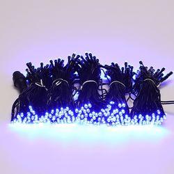 LED 검정선 트리전구 300구 청색