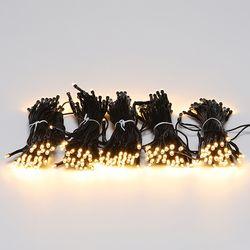 LED 검정선 트리전구 300구 전구색 (전원코드포함)