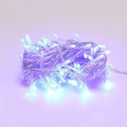 LED 투명선 트리전구 96구 청색