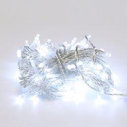 LED 투명선 트리전구 96구 백색 (전원코드포함)
