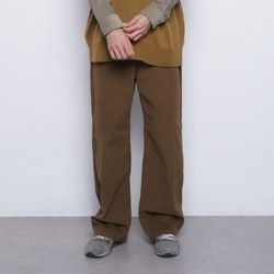 M765 pitch wide pants camel
