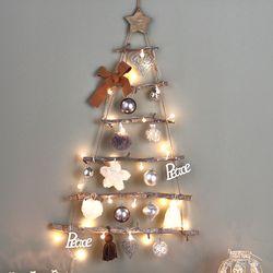 땡큐마더 크리스마스 벽트리 시티그레이