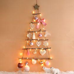 땡큐마더 크리스마스 벽트리 코지핑크