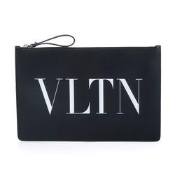 VLTN 로고 클러치 블랙 UY0P0483 LVN
