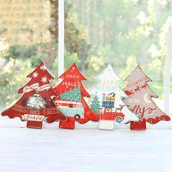 크리스마스 트리 냄비받침 4종