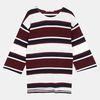 가로블록 스트라이프 티셔츠 DALA18TD1