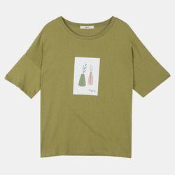 포트그래픽 티셔츠 DALA19TD1
