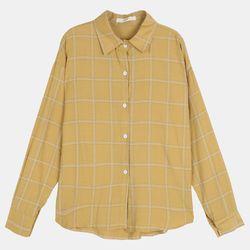 이중체크 베이직 셔츠 DAYW19TD3