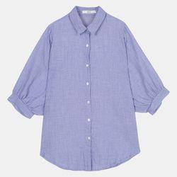 가오리 퍼프소매 셔츠 DAYC208F2