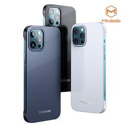 Mcdodo 아이폰 12 프로용 리얼 그립 하드 케이스