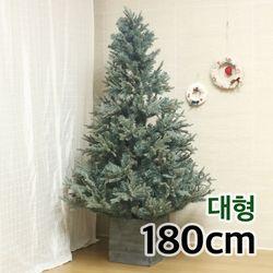 그레이 슬림트리 180cm 대형 인조 크리스마스트리