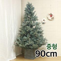 그레이 슬림트리 90cm중형 인조 크리스마스트리