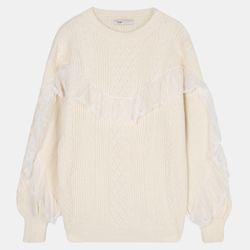레이스 스웨터 R TRKA20D57