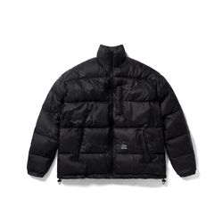DV SHORT PADDING JACKET MARBLE BLACK