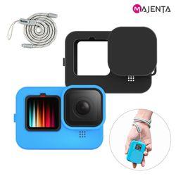 고프로9 텔레신 실리콘 케이스+렌즈커버