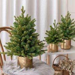 호텔식 크리스마스 트리 무장식 트리 30cm 45cm 60cm