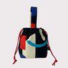 Black parade string bag