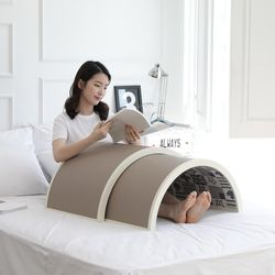 Sunray Dr 원적외선 큐어 돔 온열 찜질기 온열기 소형