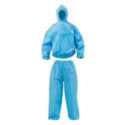 크린가드 A10 투피스 보호복 자켓 바지 하늘색 대형 1벌