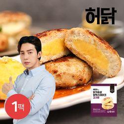 허닭 닭가슴살 함박스테이크 고구마 100g 1팩
