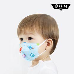 킨즈 엄마가 만든 3D 유아 마스크 10매