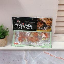 애견 행복한간식 닭갈비 400g