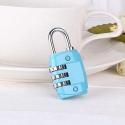 ABM 3단 자물쇠 번호열쇠 (색상랜덤)