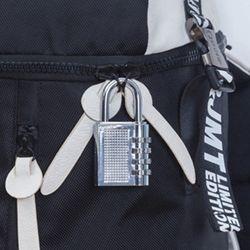 ABM 4단 자물쇠 번호열쇠 실버