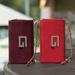 갤럭시노트8 (N950)  BrahmsGee II 지퍼 지갑 가죽케이스