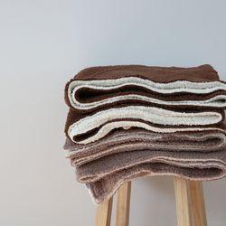 소프트 플리스 양털 블랭킷(140x170cm)(2colors)