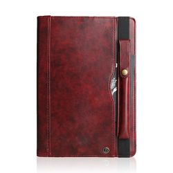 탭A 10.1 T510 위드 펜 레더 가죽 태블릿 케이스 T055