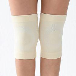 바디온 무릎 보온 보호대 2p세트(M) (크림)