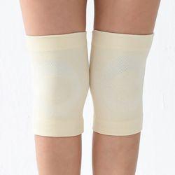 바디온 무릎 보온 보호대 2p세트(L) (크림)