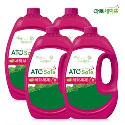 아토세이프 액체 세탁 세제 대용량 2.5L 4개