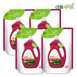 아토세이프 액체 세탁 세제 1.8L 4개