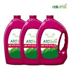 아토세이프 액체 세탁 세제 대용량 3.1L 3개