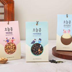 [DMZ드림푸드] 볶은 서리태 백태 초콜릿 오늘콩 세트