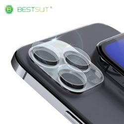 BESTSUIT 아이폰12카메라 풀글라스 투명유리 듀오필름