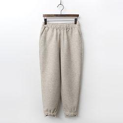 Woven Unbal Jogger Pants