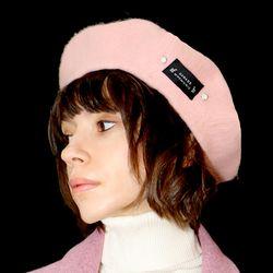 핑크 비즈 베레모_ Pink Beads Beret