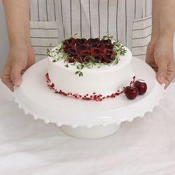 로얄애덜리 카페 화이트 케이크 스탠드